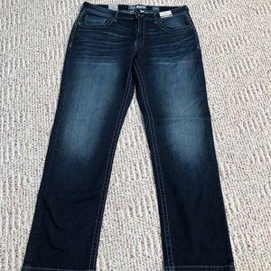 Buckle BKE Ryan Stretch Jeans Men's 34 Reg NWT